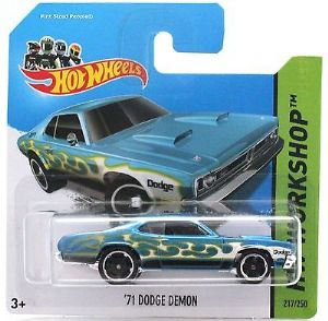 Hot Wheels 217/250 - '71 Dodge Demon Diecast Car - HW Workshop